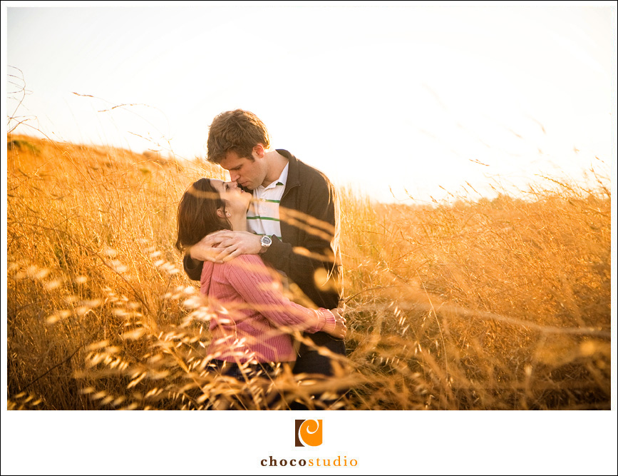 Shoreline Park Engagement Portraits