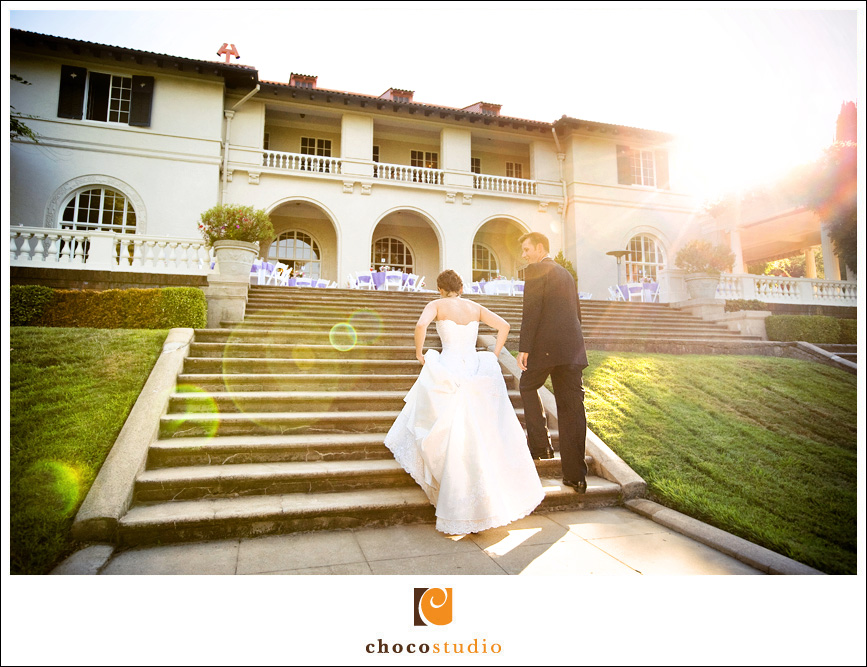Villa Montalvo Wedding Photo