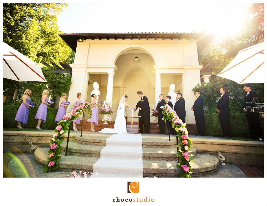 Villa Montalvo Reception